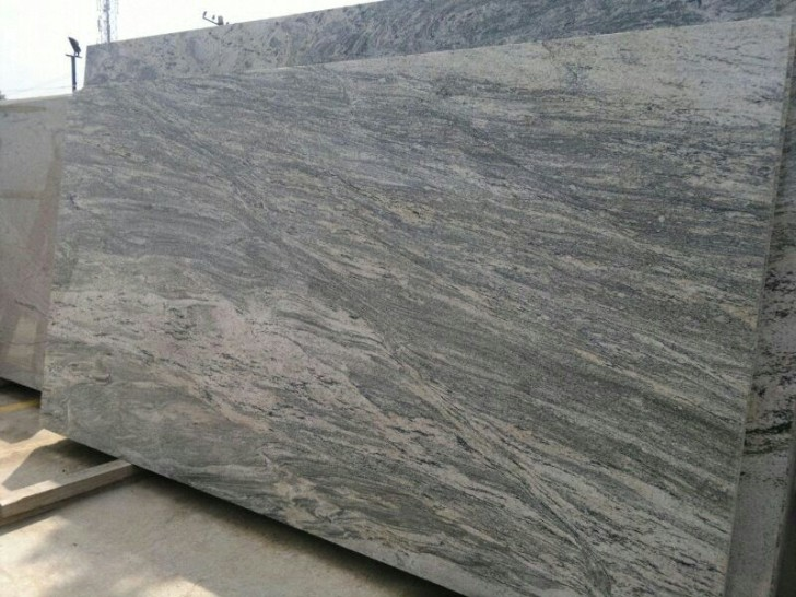 Grey Granite Slabs : River grey