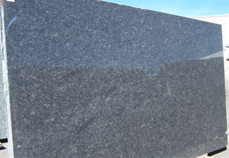 Grey Granite Slabs : Steel grey granite